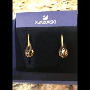 Authentic Swarovski Pierced Earrings